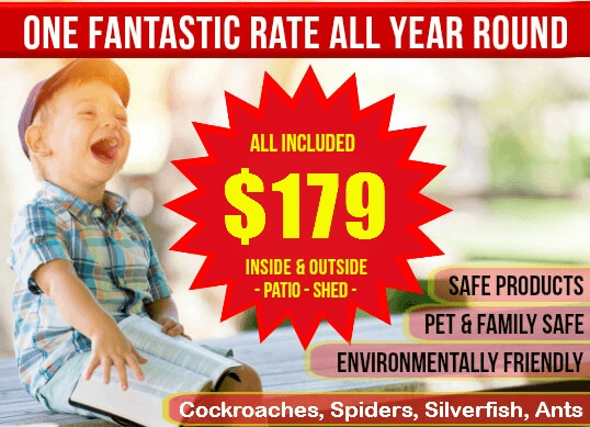 Pest Control for $179.00
